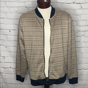 H&M MENS ZIP-UP CARDIGAN SIZE LARGE